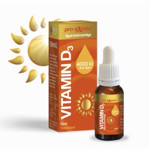 Vitamin D Pro Expert 4000IU tilgad 10 ml