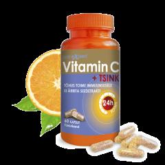 Vitamin C Pro Expert + Tsink TR kapslid N60