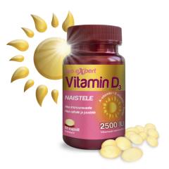 Vitamin D3 Pro Expert 2500 IU õlikapslid naistele N60